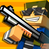 Cops N Robbers – 3D Pixel Craft Gun Shooting Games APKs MOD