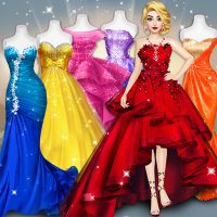 Model Fashion Red Carpet Dress Up Game For Girls Apks Mod 0 9 Unlimited For Android