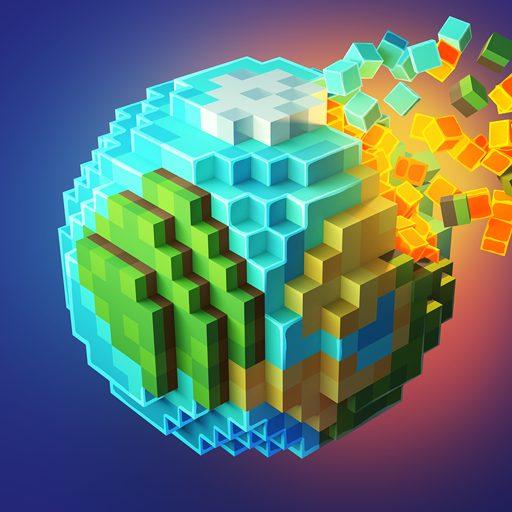 PlanetCraft Block Craft Games 5.0 APKs MOD