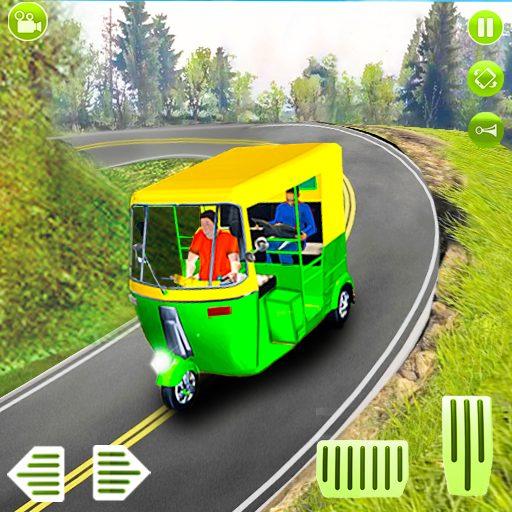 Modern auto tuk tuk Real rickshaw game 2021 1.8 APKs MOD