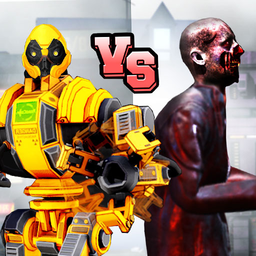 Super Robot Vs Zombies Kung Fu Fight 3D 1.10 APKs MOD