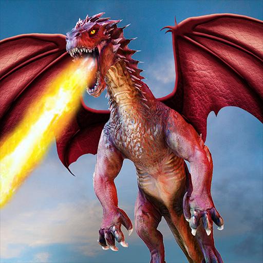 Flying Dragon Battle Simulator City Attack 1.6.0 APKs MOD