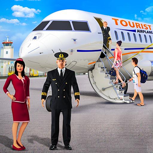 Flying Plane Flight Simulator 3D – Airplane Games 1.0.7 APKs MOD