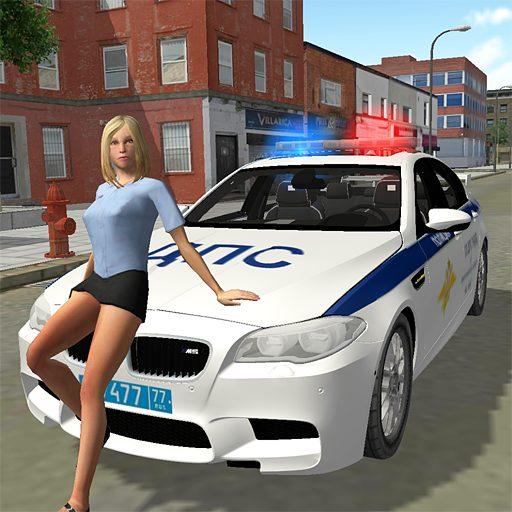 Car Simulator M5 Russian Police 1.11 APKs MOD