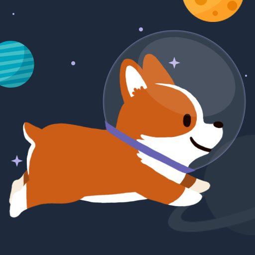 Space Corgi – Dog jumping space travel game 31 APKs MOD