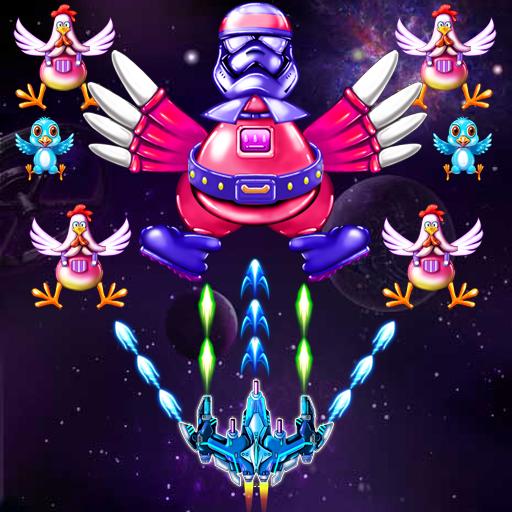 Chicken Shooter Galaxy invaders 1.1 APKs MOD