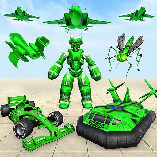 Mosquito Robot Car Games 2021 1.4 APKs MOD