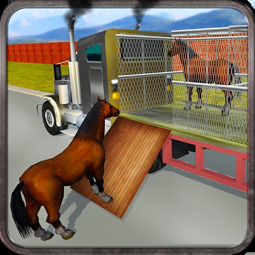 Wild Horse Zoo Transport Truck Simulator Game 2018 1.8 APKs MOD